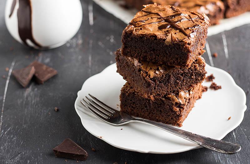 kue brownies coklat